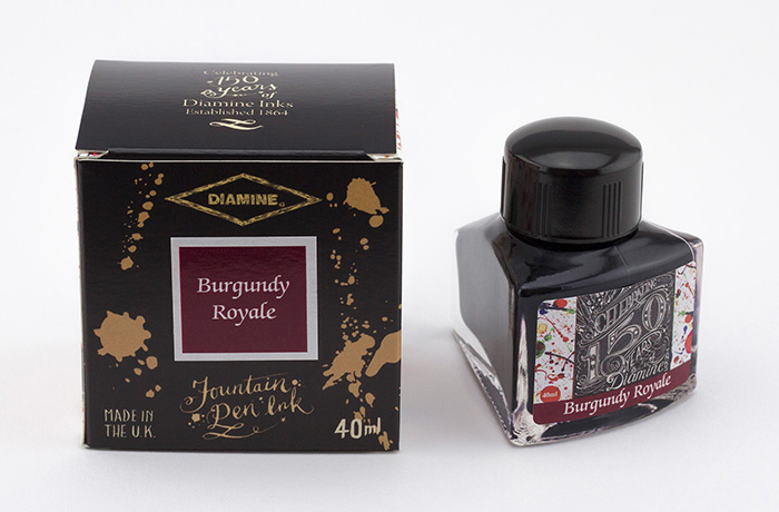 40mlBurgundy Royale Fountain Pen Ink