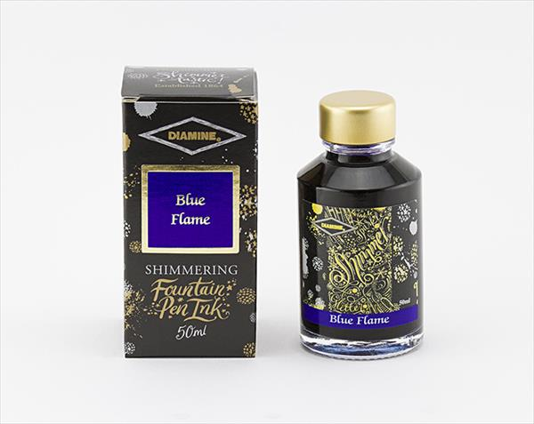 50ml Blue Flame fountain pen ink