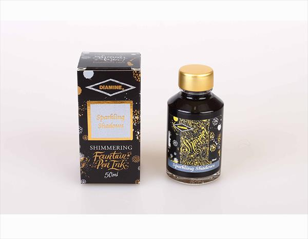 50ml Sparkling Shadows fountain pen ink